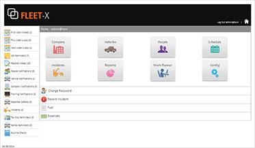 Fleet management software fleet tracking solution - Fleet X
